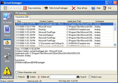 keylogger full version with crack download actual keylogger crack full v3 2 registration code