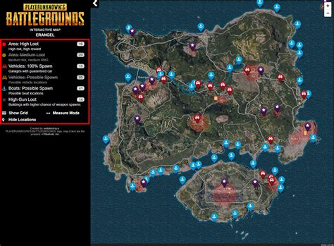 pubg map pubg map of good loot image mag