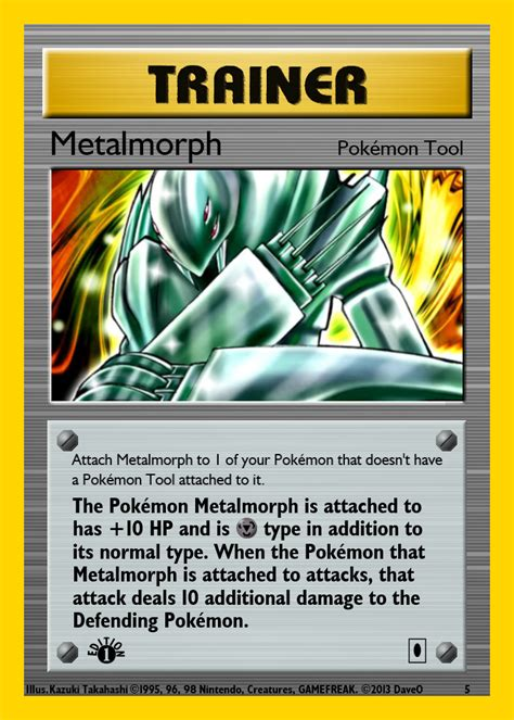 how to make a trainer card yugioh crossover trainer card metalmorph b by
