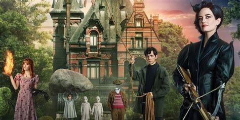 film fantasy bambini la casa per bambini speciali di miss peregrine otto