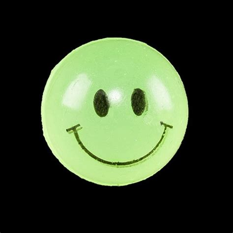 Smile Glow In The glow in the smile balls 12 per pack toys toys activity toys bouncy
