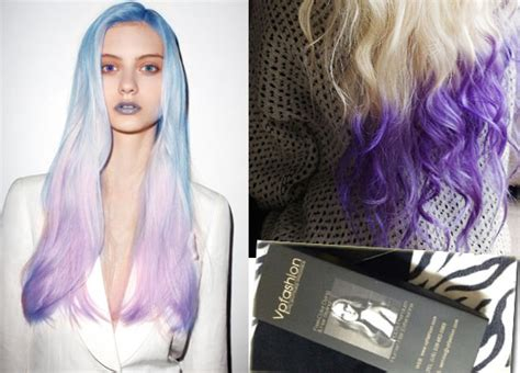 what purple hair dip dyed with black looks like red dip dye hair colors archives vpfashion vpfashion
