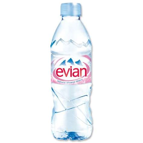 Jual Air Mineral Evian by Evian Mineral Still Water 500ml Bottle Pack 24