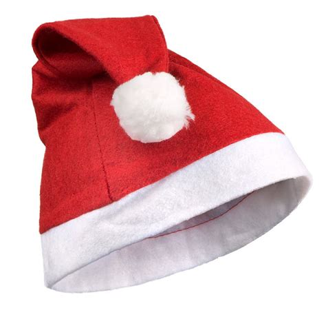 red felt christmas santa hats christmas ornaments