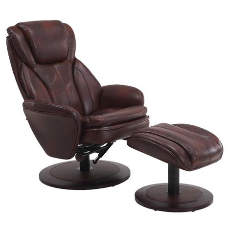 swivel recliner with ottoman recliner with ottoman view larger mac motion oslo