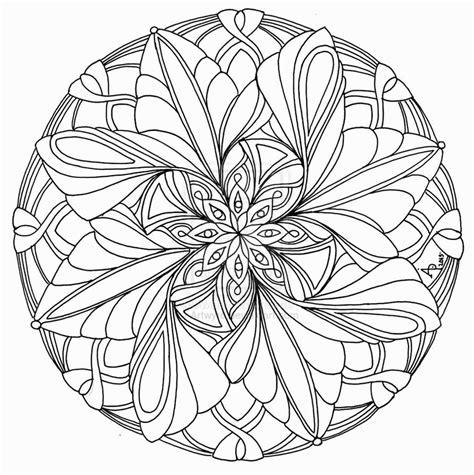 advanced mandala coloring pages advanced mandala coloring pages printable coloring home