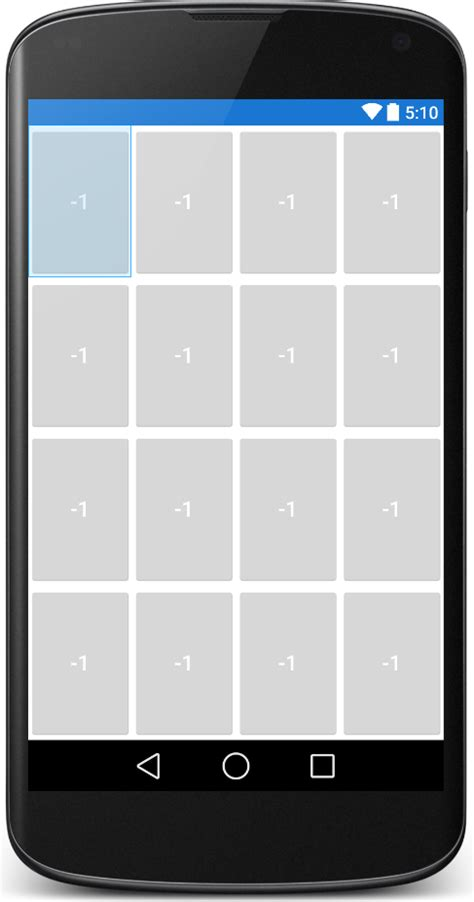 grid layout buttons android android gridlayout not gridview how to stretch all