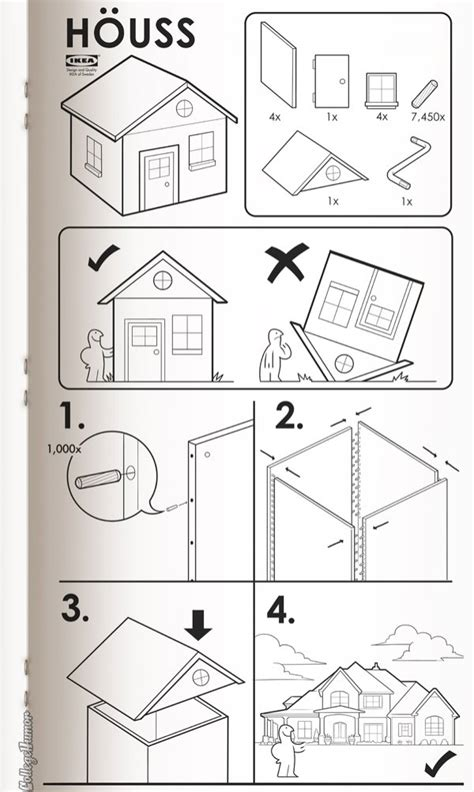 Ikea Instructions Meme - if ikea made instructions for everything collegehumor post