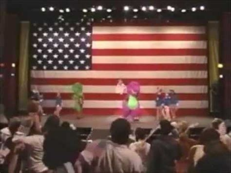 Barney And The Backyard Gang Dvd Grand Ole Flag Barney In Concert Soundtrack Youtube