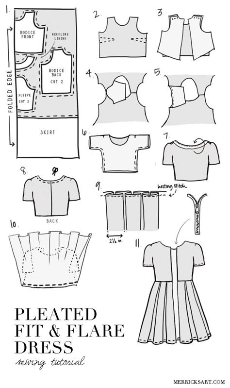clothes pattern cutting merrick s art style sewing for the everyday girldiy