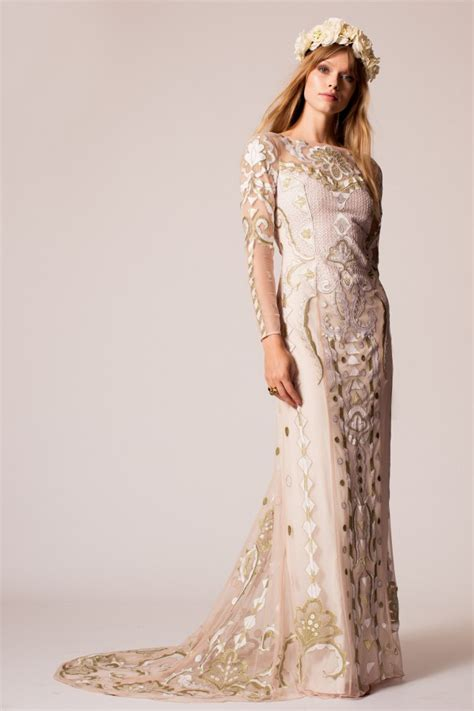 Wedding Gown Gold Premium Series temperley at baverstock couture