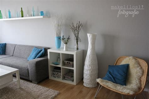 wohnzimmer türkis moderne kommoden aus holz