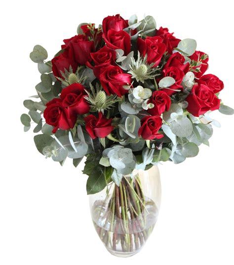 Vase Florist by 24 Roses In Vase