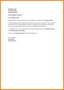 leaving a letter