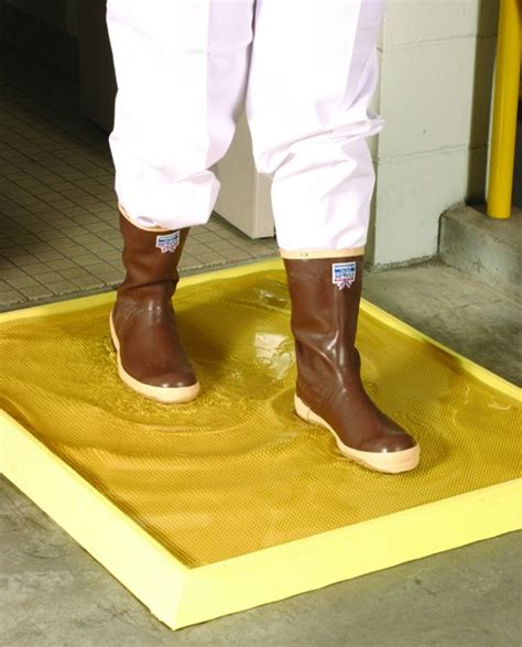 Disinfectant Mat For Cleaning Shoes - antimicrobial high wall disinfectant mat