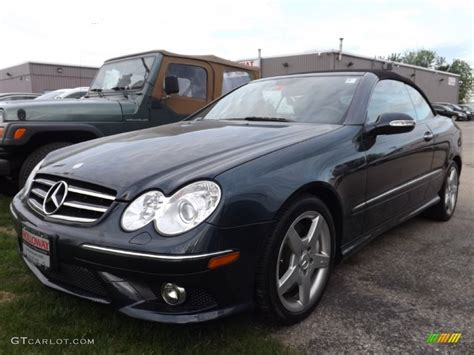 Mercedes Clk 550 by 2007 Black Opal Metallic Mercedes Clk 550 Cabriolet
