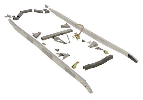 a frame kit speedway motors u weld it model a frame kit rod authority