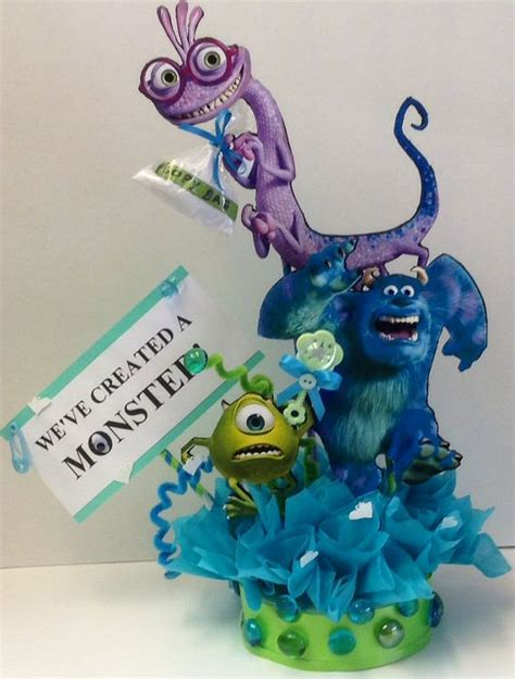 monsters inc baby shower centerpieces monsters inc baby shower centerpiece baby shower