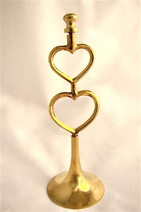 Table Number Holders Gold by Gold Table Number Holder Events2celebrate
