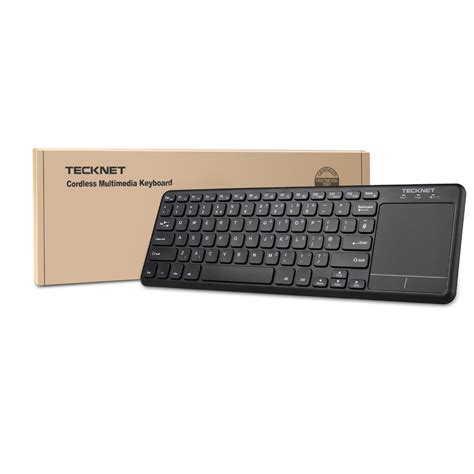 Touchpad Pc cheapest tecknet wireless bluetooth touch keyboard with