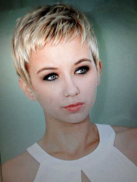 short pixie cute pixie haircuts and short blonde on pinterest cute short haircuts the best short hairstyles for women 2015