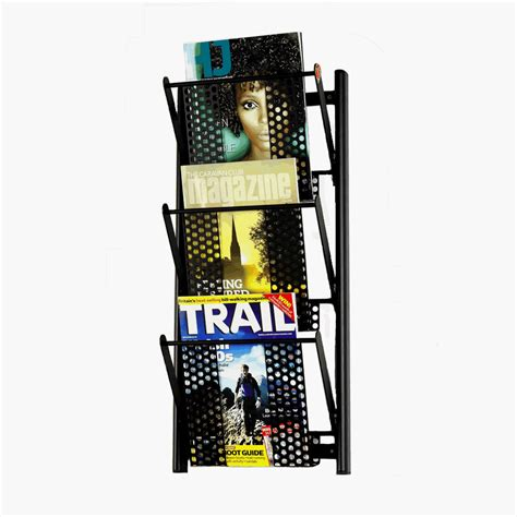 Wall Mounted Magazine Rack Uk by Magrakk Wall Mounted Magazine Rack Direct Salon