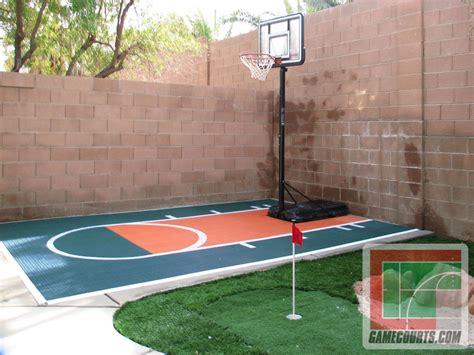 backyard basketball court flooring backyard basketball court home decor clipgoo