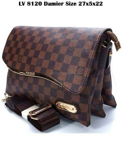 Tas Import 3 Ruang jual tas selempang wanita lv 3 ruang tas clutch tas dompet import dompet tas murah