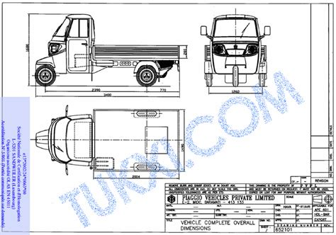 auto layout guide pdf piaggio ape specifications hp size dimensions all here