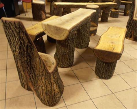 stuhl aus baumstamm beautiful hocker fell holz schaaffell - Stuhl Aus Baumstamm