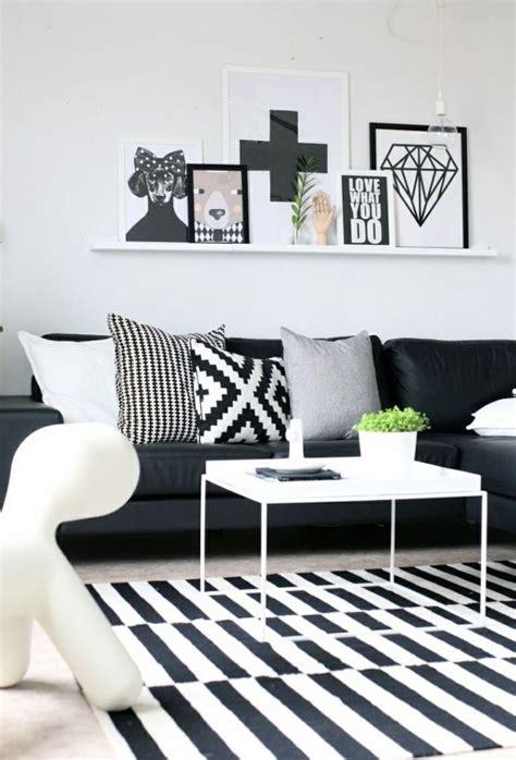 black  white nordic decor home decorating trends