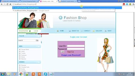 online tutorial project in php online shopping project youtube