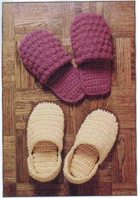 slipper pattern crochet 10 crocheted s day gifts crochet and knitting