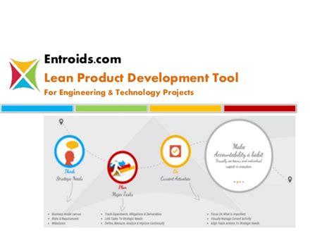 entroids lean product development tool