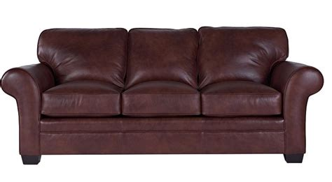 Broyhill Leather by Broyhill Zachary Leather Sofa L7902 3q2