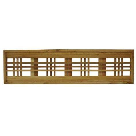 home designer pro lattice 45 75 in x 12 in western red cedar horizontal pattern