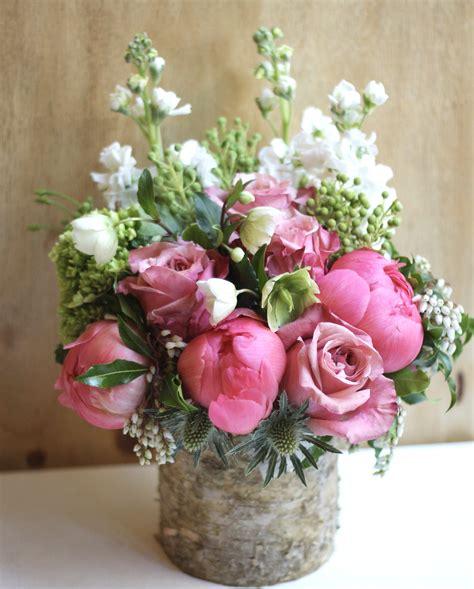 peony floral arrangement peony garden in new york ny gotham florist