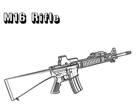 coloring pages of military guns gun coloring pages bestofcoloring com