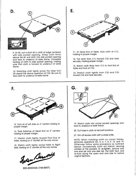parts of a pool table installing your pool table cloth pool cues and billiards
