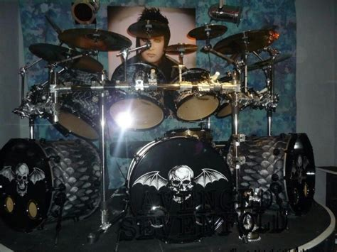 tutorial drum avenged sevenfold jimmys drum set at the hard rock cafe avenged sevenfold