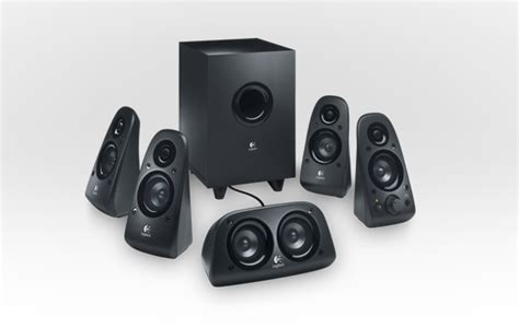 Home Theater Logitech Z906 logitech surround sound speakers z906 delivers 500w