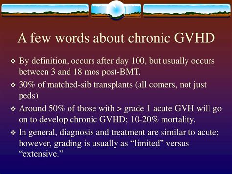 And Now For A Few More Words With Christopher Kimball by Ppt Acute Graft Versus Host Disease Agvhd Powerpoint