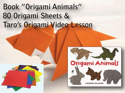 The Complete Book Of Origami Animals - taro s origami studio ny and san francisco ca