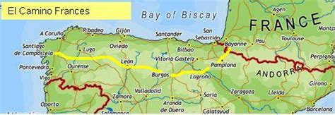 el camino map el camino de santiago rev paul s s