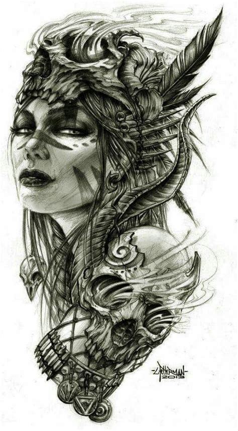 warrior girl tattoo designs best 25 viking tattoos ideas on viking