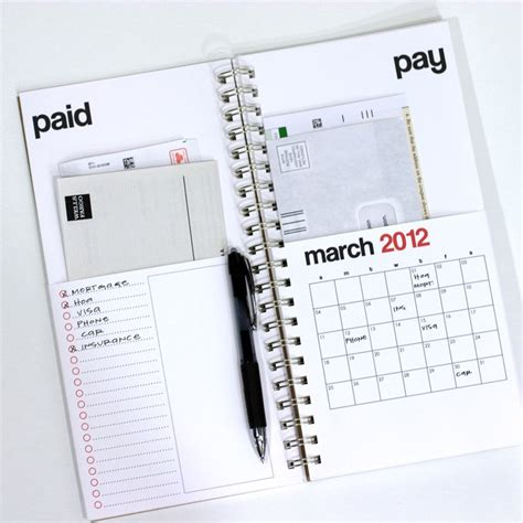 organize bills 12 best free printables finances images on pinterest