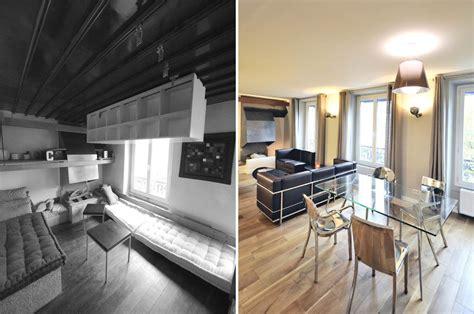 avant apr 232 s r 233 novation d un appartement atypique 3