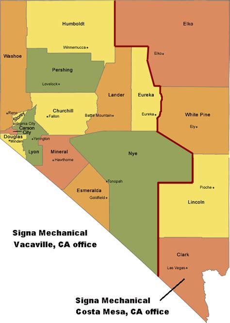 map of nevada county ca e one grinder sales service environment one