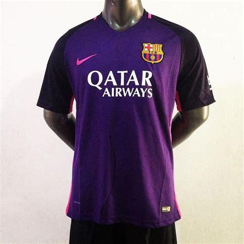 Asli Kaos Kaki Grade Ori Barcelona 3rd 2016 Biru Promo kaos jersey barcelona away 2016 2017 jersey bola grade ori murah