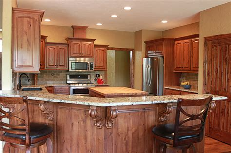 Knotty Alder Kitchen Cabinets by The Cabinets Plus Knotty Alder Kitchen Cabinets